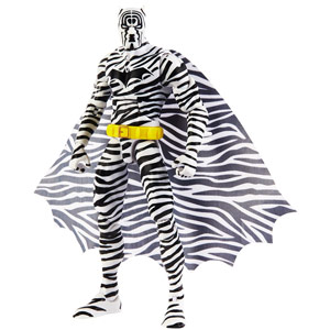The Zebra Batman - The Strange Lives of Batman - DC Comics Multiverse - Mattel