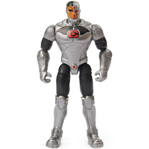 Cyborg - 4 inch action figure - Spin Master