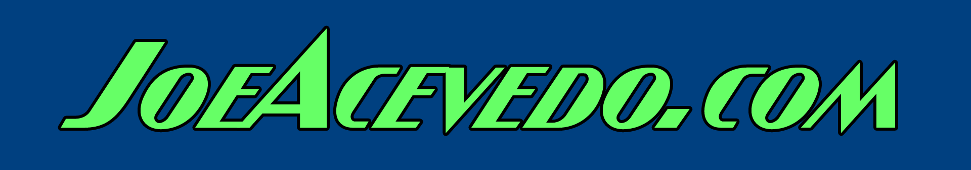 JoeAcevedo.com