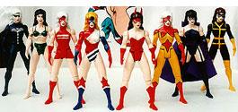 Custom Femforce figures
